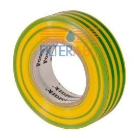 Szigetelőszalag 10M (zöld-sárga)