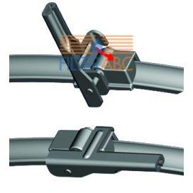 PEXA PREMIUM 05PXD ablaktörlőlapát készlet (480 mm, 600 mm)