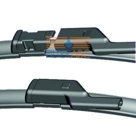 PEXA PREMIUM 08PXD ablaktörlőlapát készlet (650 mm, 750 mm)