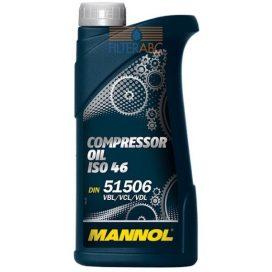 MANNOL kompresszor olaj ISO 46 1L