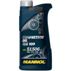 MANNOL kompresszor olaj ISO 100 1L