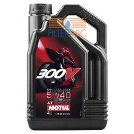 MOTUL 300V 4T FACTORY LINE 5W40 4L