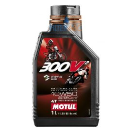 MOTUL 300V 4T FACTORY LINE 10W50 1L