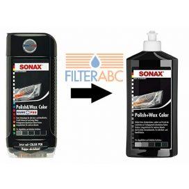 SONAX Polír és Wax 500 ml - FEKETE