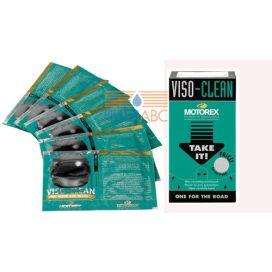 MOTOREX VISO-CLEAN tiszítókendő (6 db / készlet)