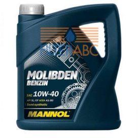 MANNOL-MOLIBDEN-BENZIN-10W40-4L