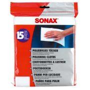 SONAX Polírozó kendő 15 db