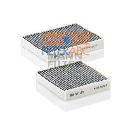 MANN FILTER CUK21000-2 aktívszenes pollenszűrő (2 db/csomag)