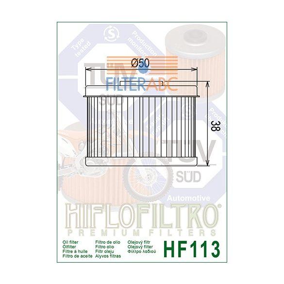 HIFLOFILTRO HF113 olajszűrő