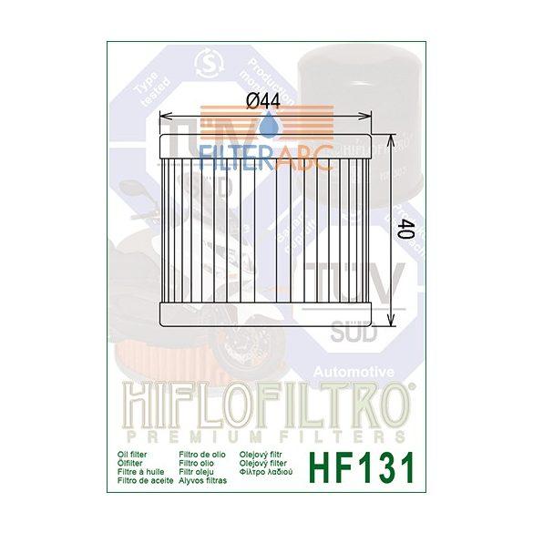 HIFLOFILTRO HF131 olajszűrő