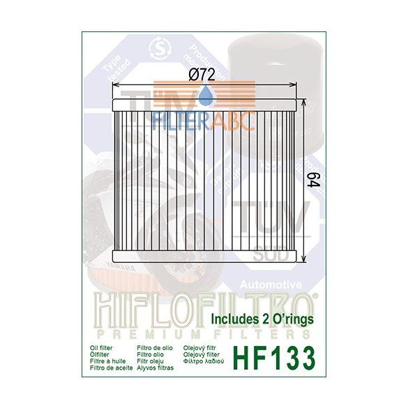 HIFLOFILTRO HF133 olajszűrő