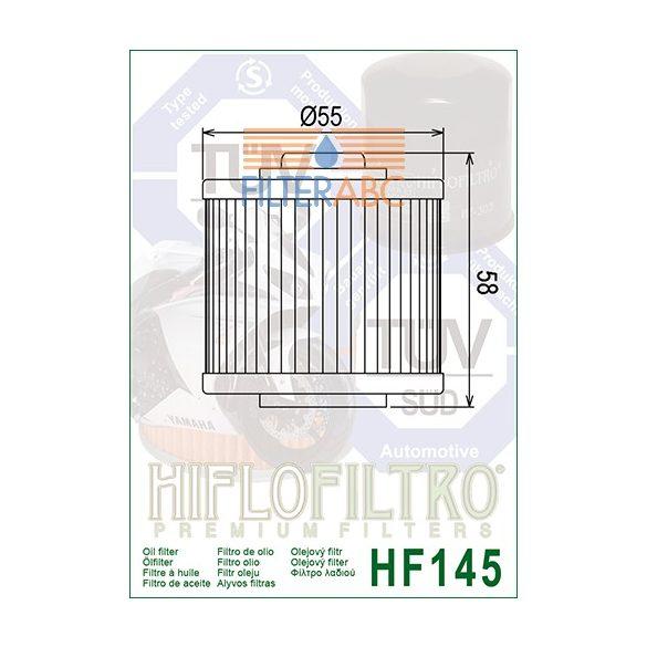 HIFLOFILTRO HF145 olajszűrő