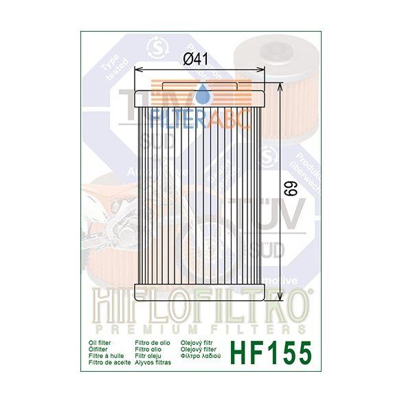 HIFLOFILTRO HF155 olajszűrő