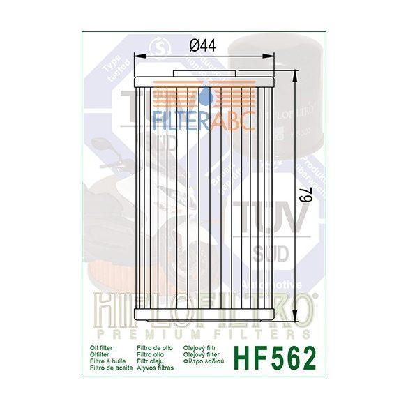 HIFLOFILTRO HF562 olajszűrő