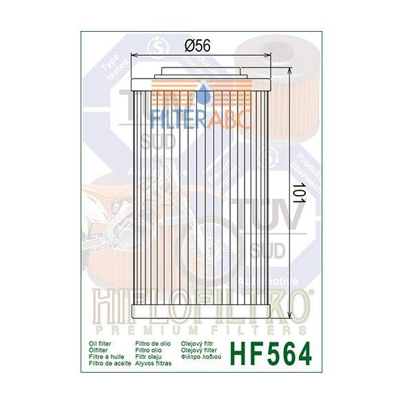 HIFLOFILTRO HF564 olajszűrő