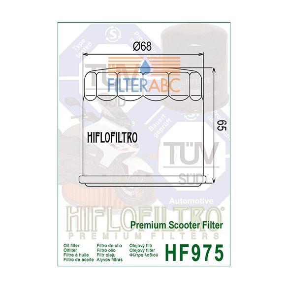 HIFLOFILTRO HF975 olajszűrő