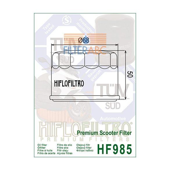 HIFLOFILTRO HF985 olajszűrő