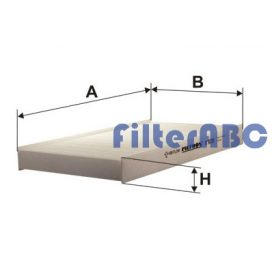 FILTRON K1035 pollenszűrő