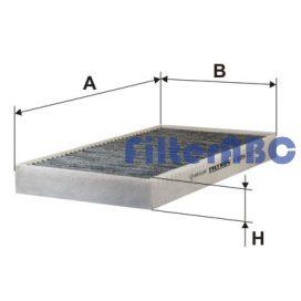 FILTRON K1035A aktívszenes pollenszűrő