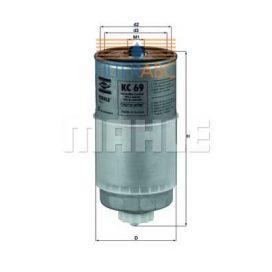 MAHLE ORIGINAL KC69 üzemanyagszűrő