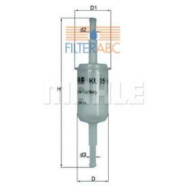 MAHLE ORIGINAL KL150F üzemanyagszűrő