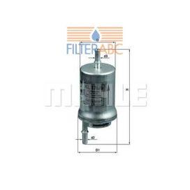 MAHLE ORIGINAL KL176/6D üzemanyagszűrő