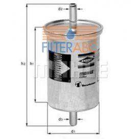 MAHLE ORIGINAL KL2 üzemanyagszűrő