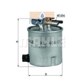 MAHLE ORIGINAL KL404/25 üzemanyagszűrő