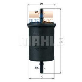 MAHLE ORIGINAL KL416/1 üzemanyagszűrő