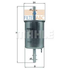 MAHLE ORIGINAL KL573 üzemanyagszűrő
