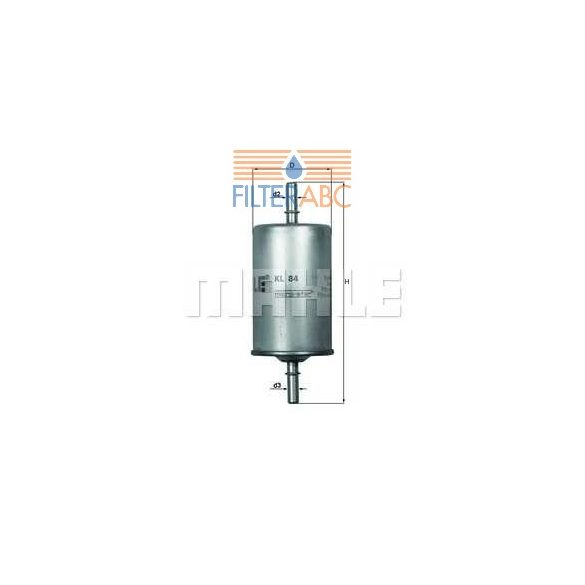 MAHLE ORIGINAL KL84 üzemanyagszűrő