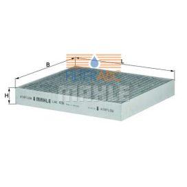 MAHLE ORIGINAL LAK436 aktívszenes pollenszűrő