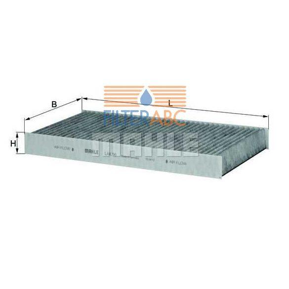 MAHLE ORIGINAL LAK56 aktívszenes pollenszűrő