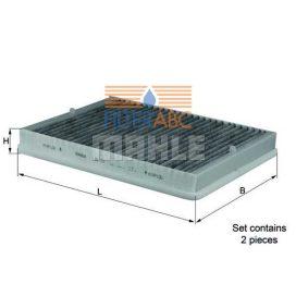 MAHLE ORIGINAL LAK73/S aktívszenes pollenszűrő