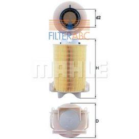 MAHLE ORIGINAL LX1566 levegőszűrő