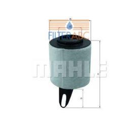 MAHLE ORIGINAL LX1650 levegőszűrő