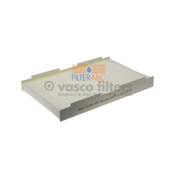 VASCO FILTERS O097 pollenszűrő