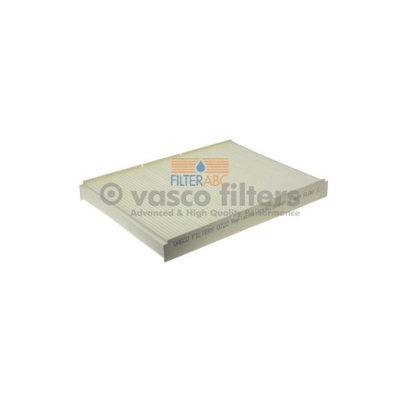 VASCO FILTERS O722 pollenszűrő