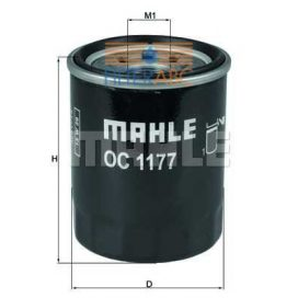 MAHLE ORIGINAL OC1177 olajszűrő