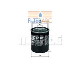 MAHLE ORIGINAL OC217 olajszűrő