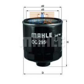 MAHLE ORIGINAL OC295 olajszűrő
