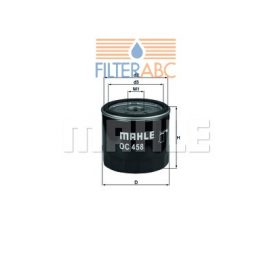 MAHLE ORIGINAL OC458 olajszűrő