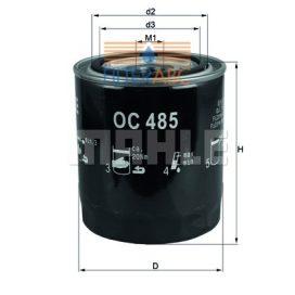 MAHLE ORIGINAL OC485 olajszűrő - 1994.08. hónapTÓL gyártott modellekhez
