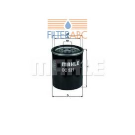 MAHLE ORIGINAL OC521 olajszűrő