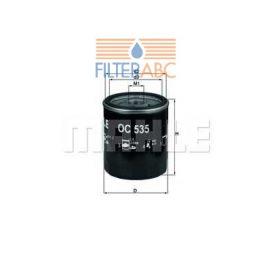 MAHLE ORIGINAL OC535 olajszűrő