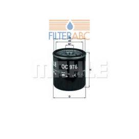MAHLE ORIGINAL OC976 olajszűrő