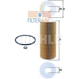 MAHLE ORIGINAL OX143D olajszűrő