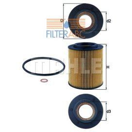 MAHLE ORIGINAL OX154/1D olajszűrő