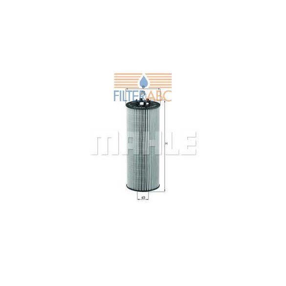 MAHLE ORIGINAL OX164D olajszűrő