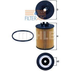 MAHLE ORIGINAL OX173/2D olajszűrő